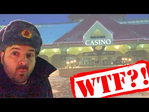 Stupid Gambler RISKS LIFE In A BLIZZARD To Play Penny Slots!