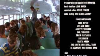 Ferris Bueller Ending Credits