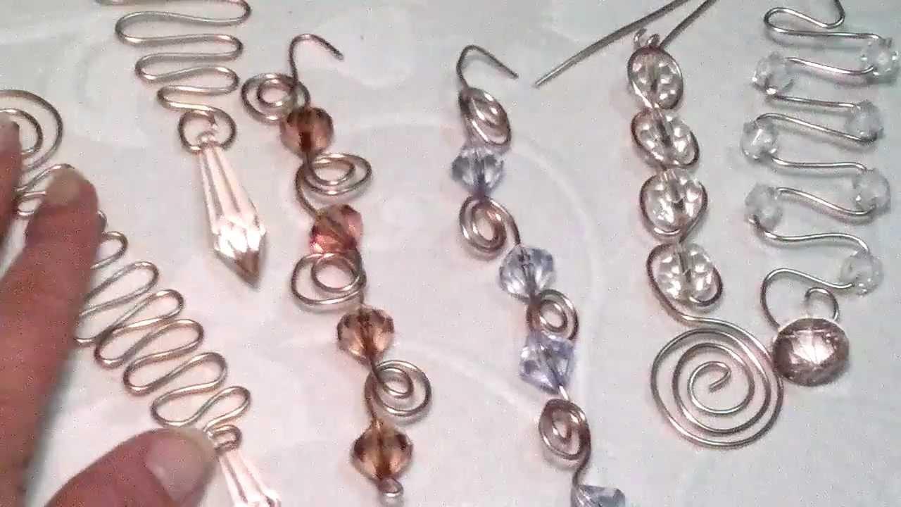 Diy manualidades decoracion en alambre de aluminio - Trabajos manualidades desde casa ...