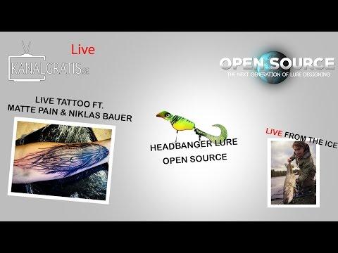 Fishing Live & Studio Show - Niklaus Bauer Tattoo Live - HeadBanger OS
