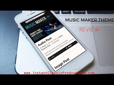 Music Maker Theme Review 2016