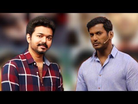 Thalapathy Vijay in Vishal's Naam Oruvar Show | Vishal | Hot Tamil Cinema News