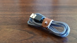 Native Union MFI Certified Lightning Belt Cable
