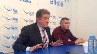 Conferinta de presa ALDE Bihor - 11 noiembrie 2015