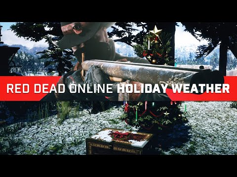 Red Dead Online: Holiday Event Weather