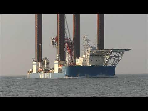 #WIND LIFT1 #Offshore #Eemshaven #Construction Jack Up