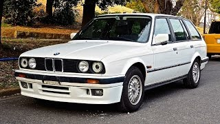 1991 BMW E30 325i Touring Wagon (Canada Import) Japan Auction Purchase Review