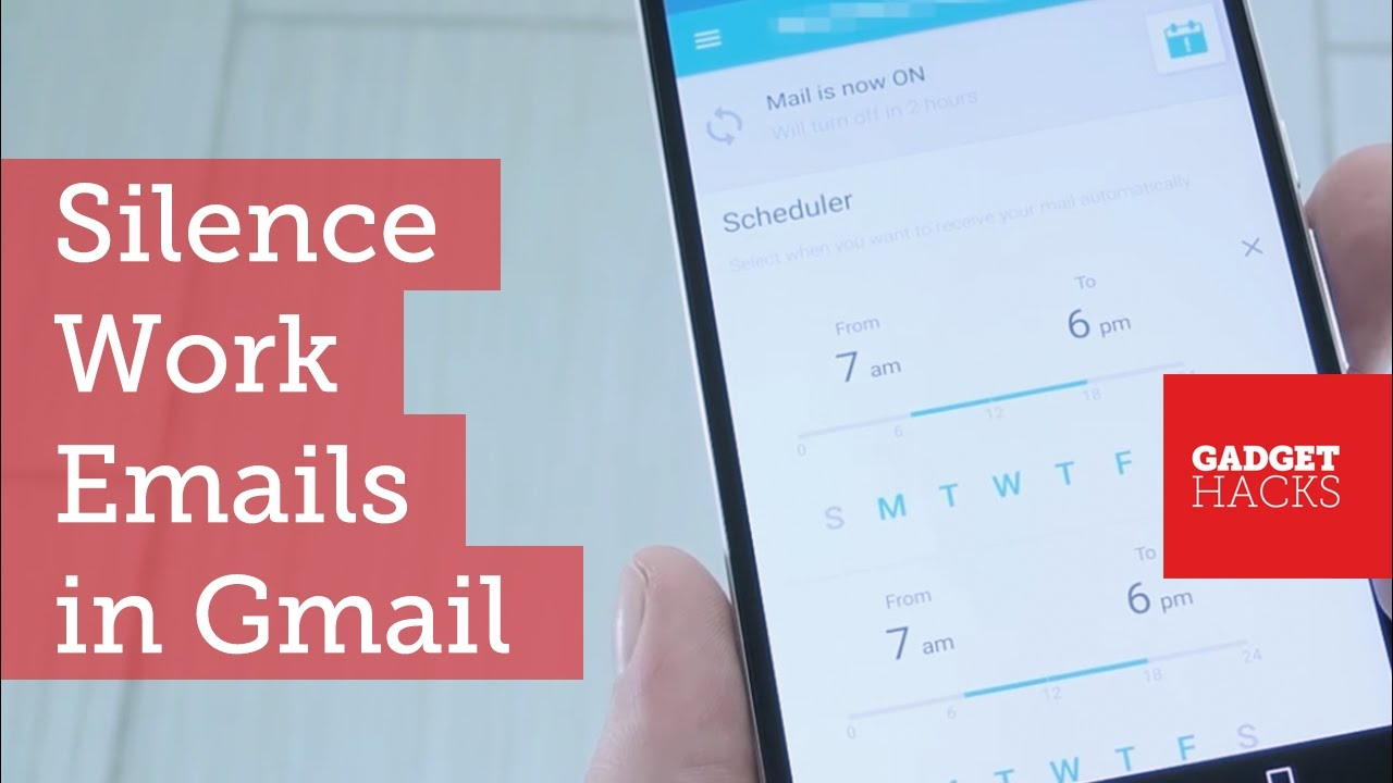 How to Keep Work Emails from Invading Your Free Time « Android