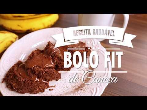 BOLO FIT DE CANECA (banana e aveia) | Mamãe Vida Saudável #87