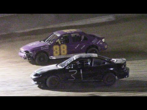 Kids Class Mini Stock Feature | Old Bradford Speedway | 6-11-17