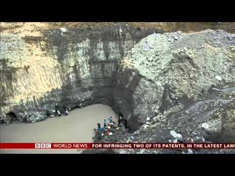 Ciara Riordan - Colombia's missing miners - BBC World News