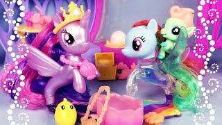 Волшебные морские пони и гиппогриф - обзор игрушек My Little Pony