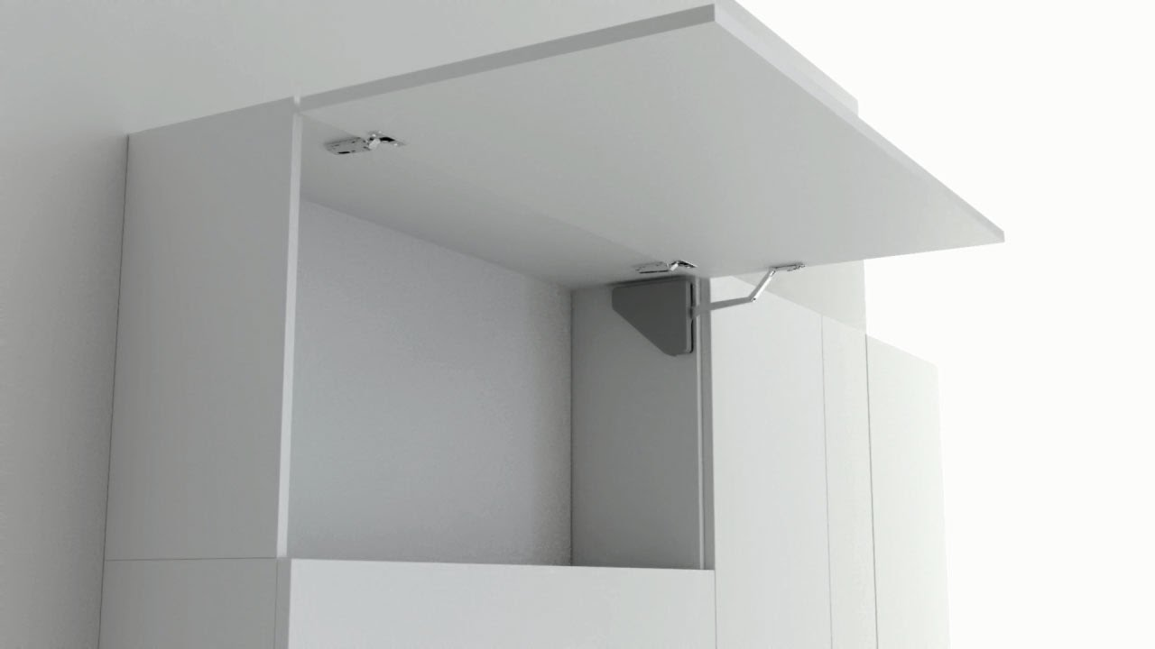 Salice  Lifting systems flap door  YouTube