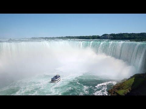 Canada Side - Niagara Falls -  Horse Shoe View