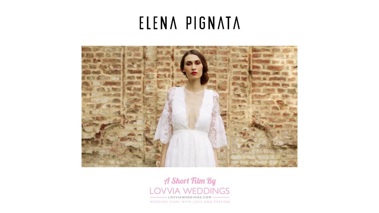310d40b599e0 Collezione Sposa Elena Pignata 2018 - Torino - YouTube