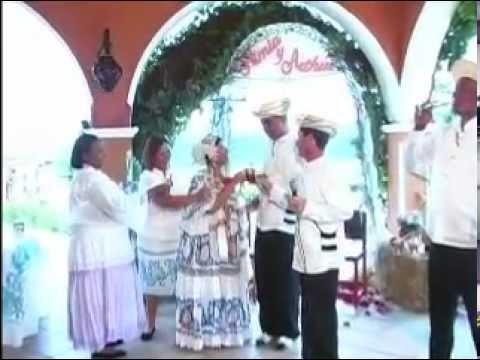 Boda Típica Cristiana de Panamá , Arthur y Nimia (Itzela) James , YouTube
