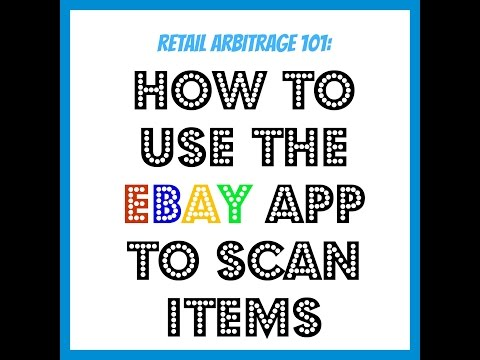 How To Use The Ebay App To Scan Items |E-commerce Educator Tips