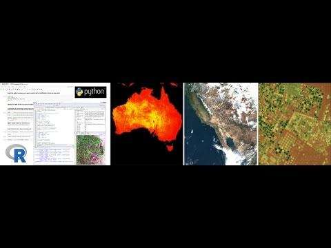 R you Ready to Python? An Introduction to Working with Land Remote Sensing  Data in R and Python