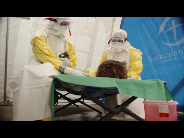 Ebola Treatment Center Opens in the DRC