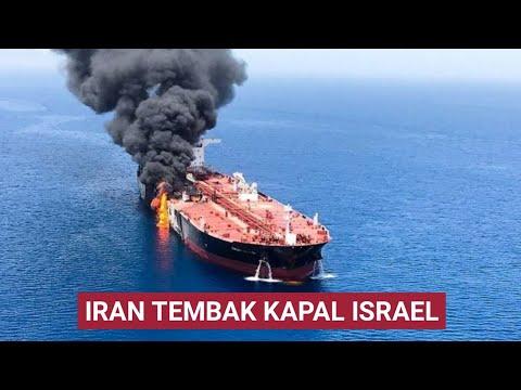 DUAARR.. IRAN TEMB4K KAPAL ISRAEL DI TELUK OMAN