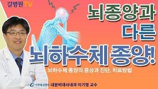 뇌하수체 종양의 증상과 진단, 치료방법 / 가천대 길병…