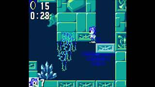 Sonic 1 Game Gear - Labyrinth 2: 0:55 (Speed Run)