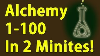 Alchemy 1-100 in 2 Minutes and Make Gold - Skyrim Fastest way to level
