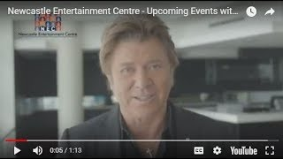 Newcastle Entertainment Centre - Upcoming Events with Richard Wilkins (July 2018)
