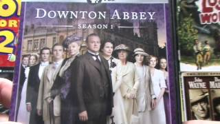 Downton Abbey S1 and 2 DVDs