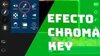 Como hacer efectos  de pantalla verde en android