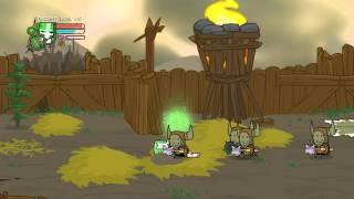 Castle Crashers Gameplay (PC, Gamepad)