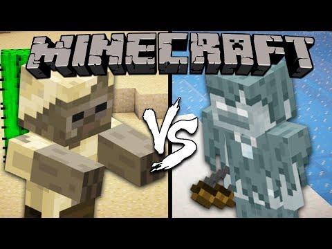 Husk vs. Stray - Minecraft
