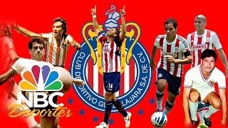 El 11 ideal histórico de las Chivas Rayadas del Guadalajara | NBC Deportes | NBC Deportes