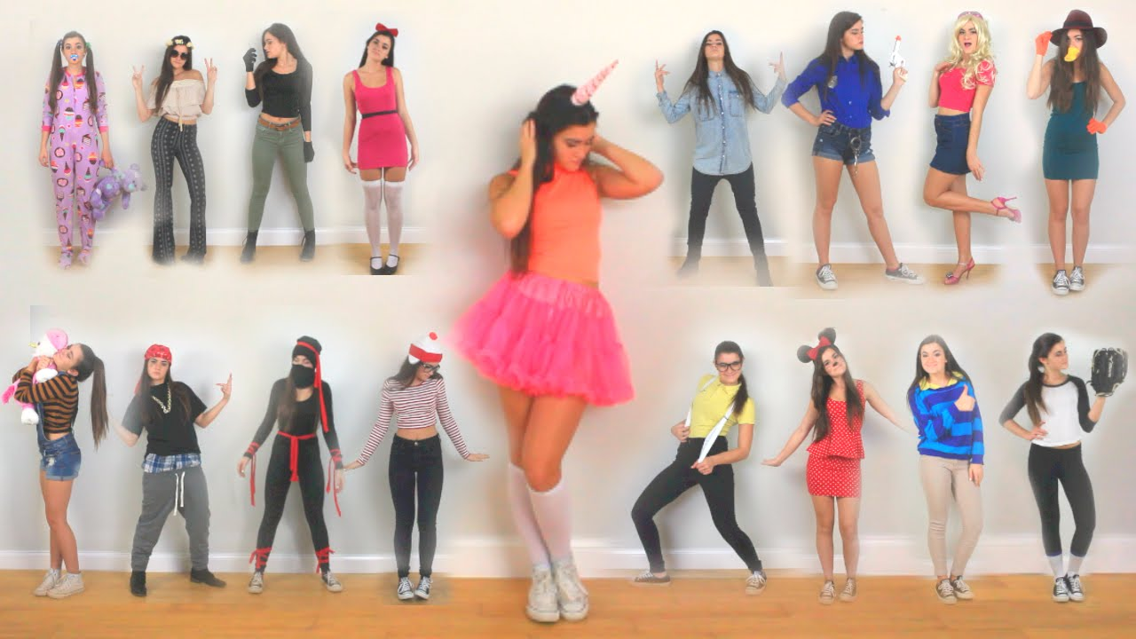 30 last minute diy halloween costume ideas youtube - Easy Homemade Halloween Costumes Teens