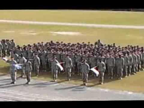 Fort Jackson Graduation from Army Basic Training
