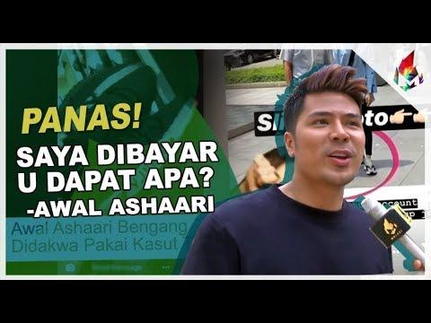 Awal Ashaari Saya Dibayar, U Dapat Apa? | Melodi Anugerah Skrin 2018