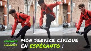 Mon service civique en Espéranto !