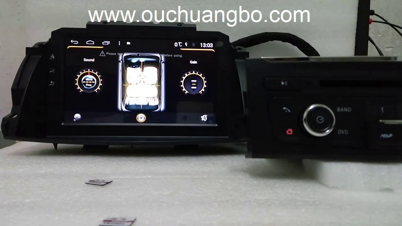 ouchangbo car dvd gps radio fit for renault koleos 2014 2015 clio 3 android 5 1 system youtube. Black Bedroom Furniture Sets. Home Design Ideas