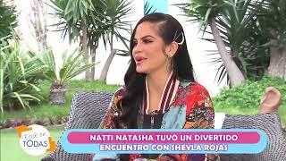 Natti Natasha envió mensaje a Daniela Darcourt y  Yahaira Plasencia