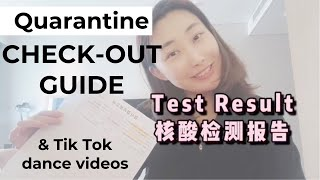 CORONAVIRUS TESTING RESULT + CHECK-OUT PROCESS AT THE QUARANTINE HOTEL | SEOUL KOREA | TIK-TOK DANCE