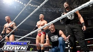 8-Man Tag Team Match: SmackDown – 20. August 2015