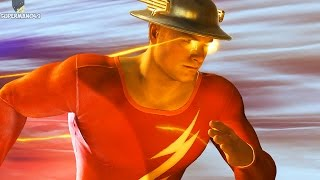 "Injustice 2: ALL JAY GARRICK FLASH INTROS! 1080P 60FPS - Injustice 2 ""Jay Garrick"" Intro Dialogue"