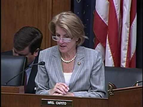 Congresswoman Shelley Moore Capito Statement At Housing Hearing