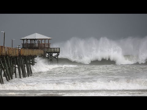 Hurricane Florence hits North Carolina coast
