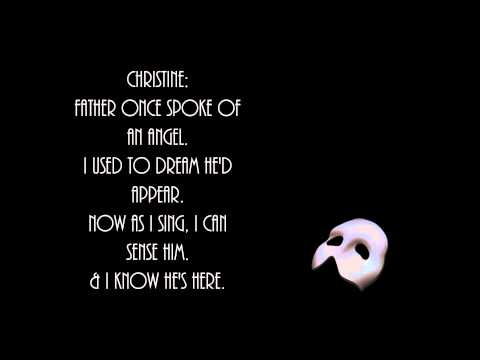 Angel of Music - Phantom of the Opera (Lyrics)