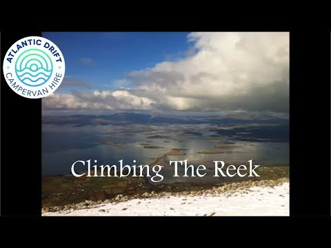 Climbing The Reek, Croagh Patrick, Co Mayo with Facebug Campers.