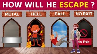 6 RIDDLES on Escape Mystery (PART 5)   Can You Solve It?   Popular RIDDLES