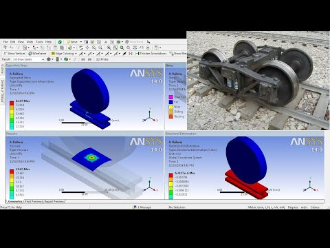 ANSYS Workbench Tutorial Video | Structural Contact Target Non Linear FE Analysis | Beginner | GRS |