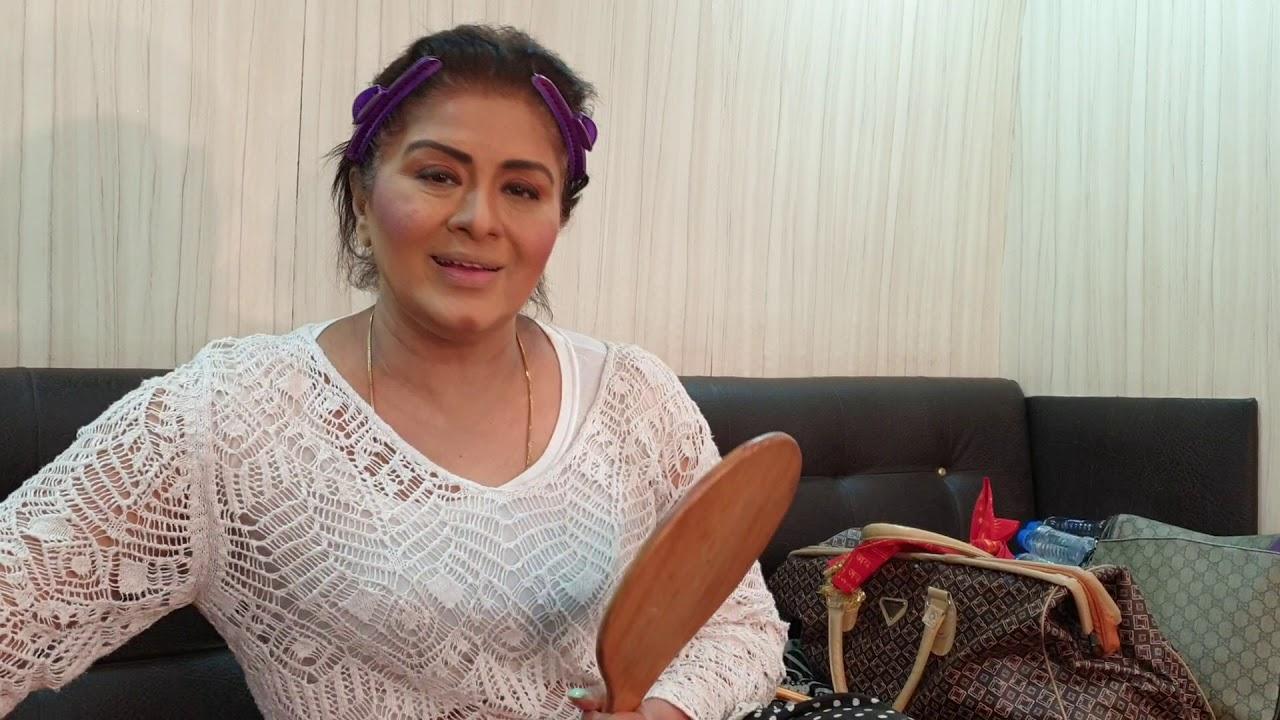 Sudha Chandran Talks - Makeup Tips   Ayman Entertainment - YouTube