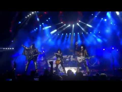 KISS Live In Los Angeles 7/8/2014 The 40th Anniversary World Tour